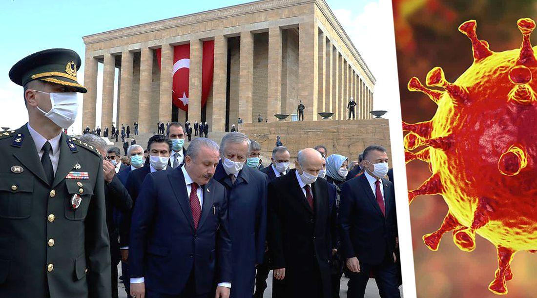 Турция отметила 100-летний юбилей национального суверенитета на фоне бушующей пандемии коронавируса