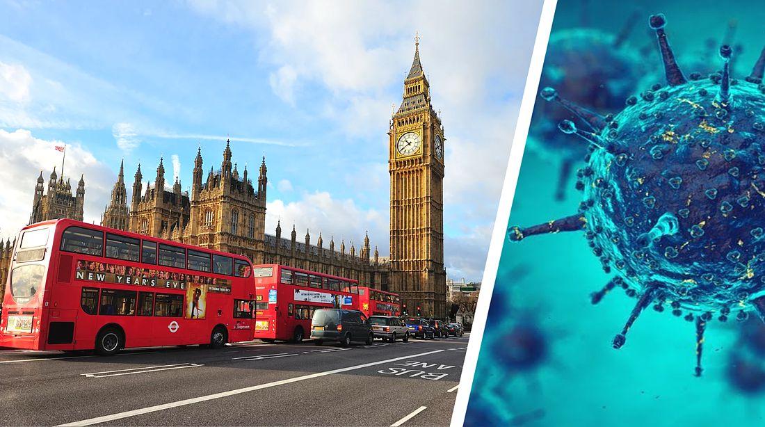 Британии предрекли самый мрачный в Европе сценарий пандемии коронавируса