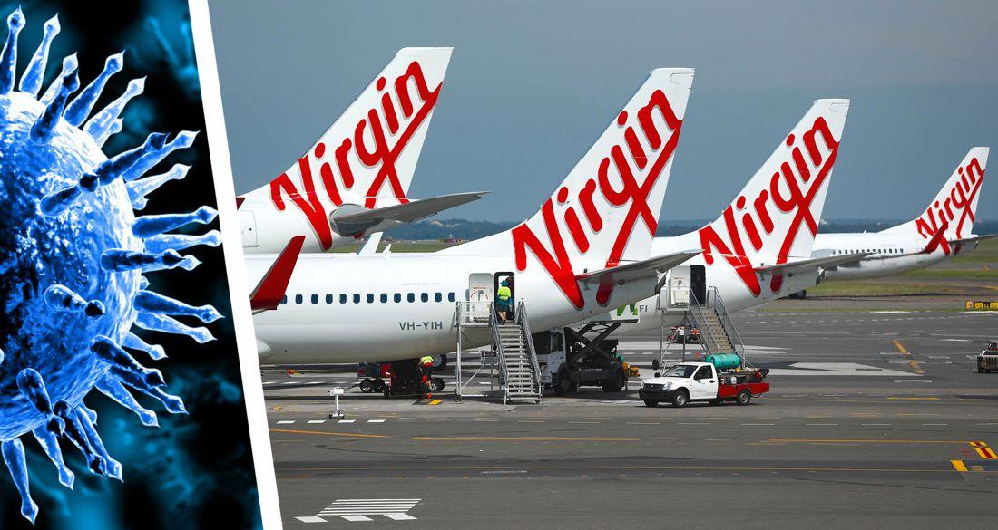 Коронавирус привел вторую по величине авиакомпанию Австралии к банкротству