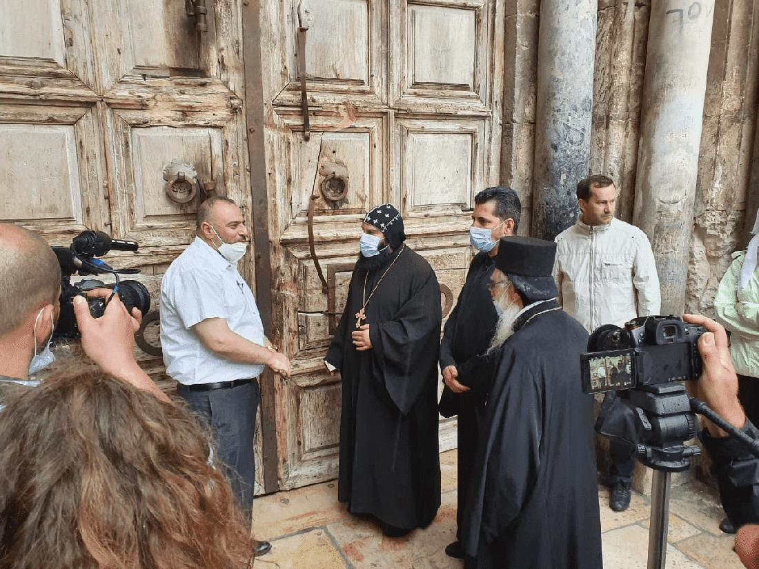 Храм Гроба Господня в Иерусалиме открылся для посетителей. Фото