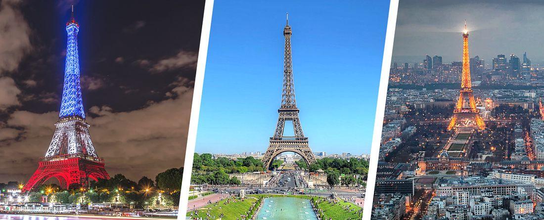 10 необычных фактов об Эйфелевой башни, включая цвет, в который она была первоначально окрашена