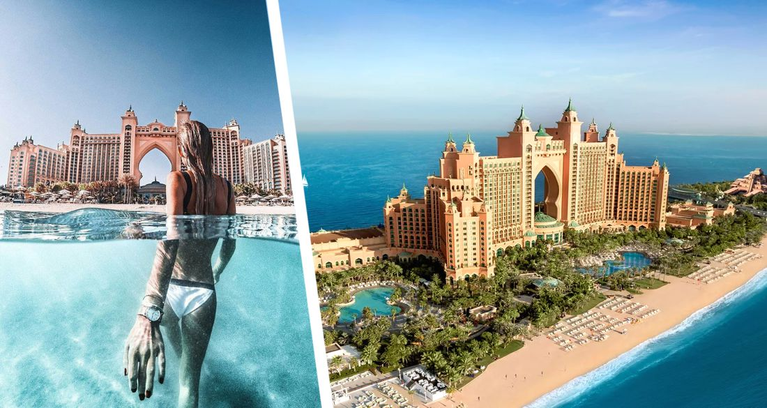 Самый роскошный отель Дубая возобновил работу после коронавируса