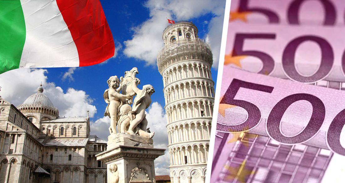 Пример для России: как в Италии раздадут по €500 для стимулирования внутреннего туризма