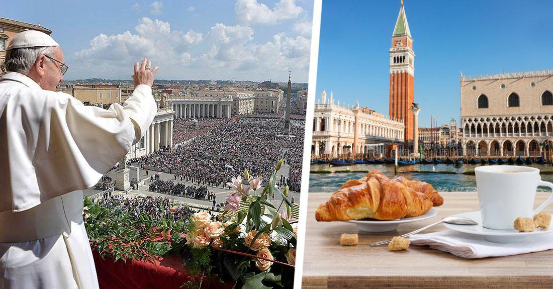 Италия открыла рестораны и церкви