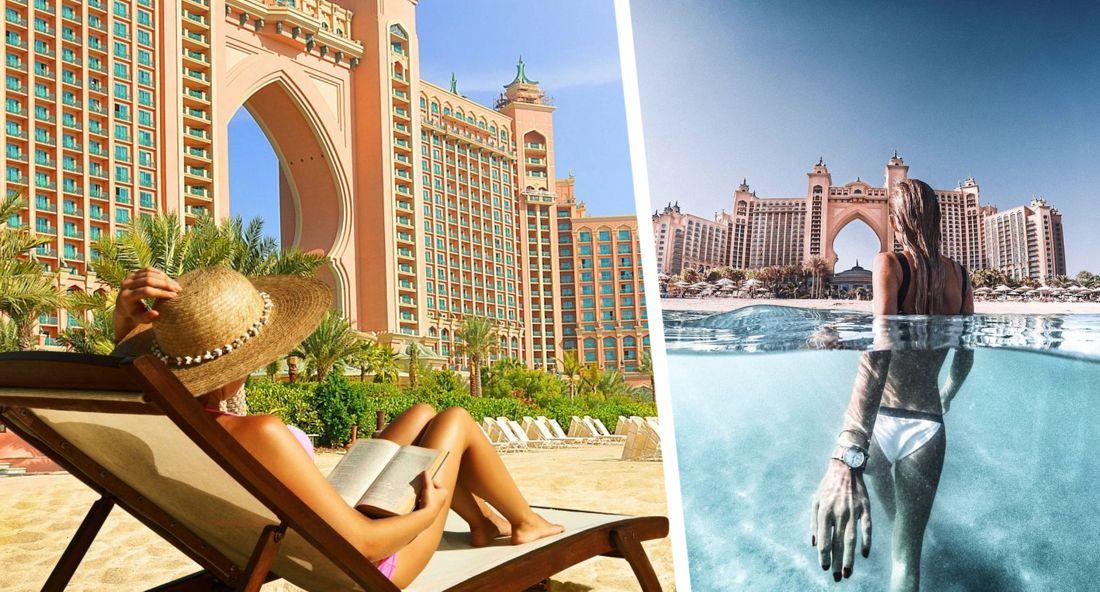 В Дубае открыли пляжи отелей