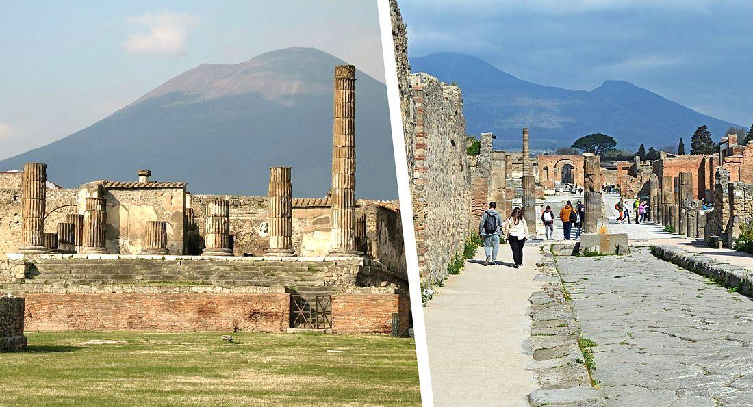 Италия открывает знаменитые Помпеи: первыми их уже посетили туристы из США