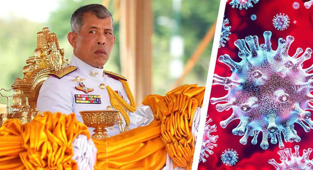 В немецком отеле, куда сбежал король Таиланда с гаремом из 20 любовниц, устроили акцию протеста. ФОТО