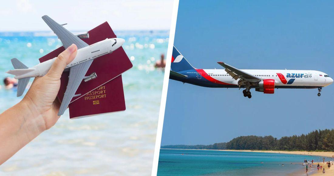 AZUR air запускает для туристов Дальнего Востока полетные программы в Сочи