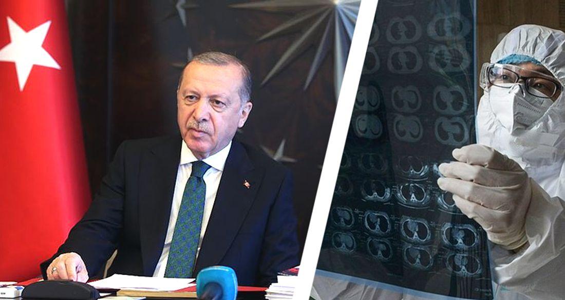 Эрдоган: Турция потеряла позиции в борьбе с коронавирусом