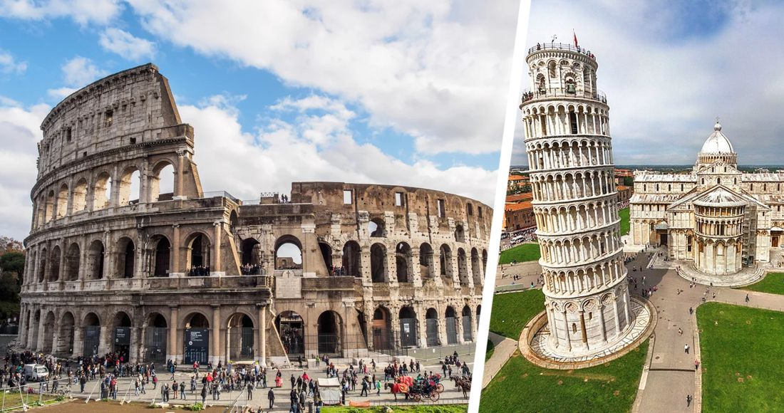 Как открываются туристические достопримечательности Италии