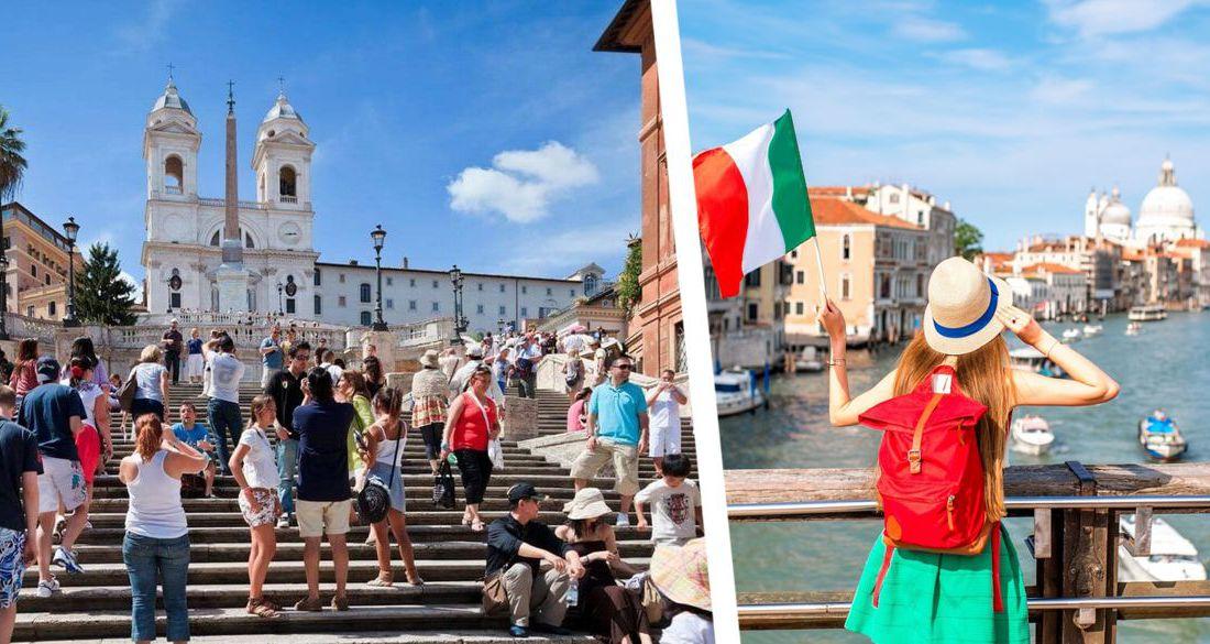 Италия открыла границы для туристов, причем без справок и обязательного карантина