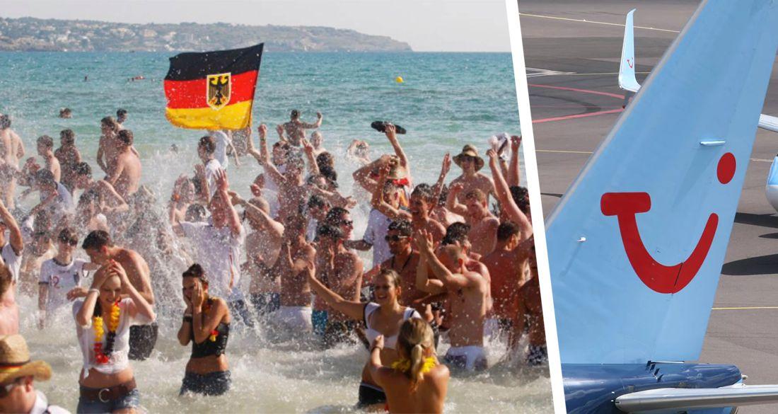 Пока российских туристов не выпускают за границу, немецкие полетели на курорты Средиземноморья