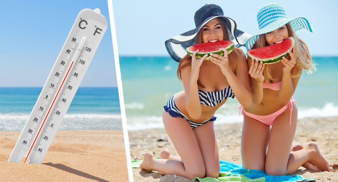 Гидрометцентр сравнил температуру моря на разных курортах и дал прогноз