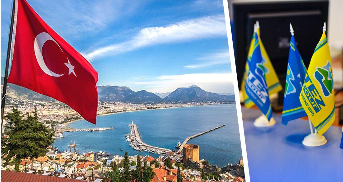Tez Tour запускает чартеры в Турцию с 10 июля