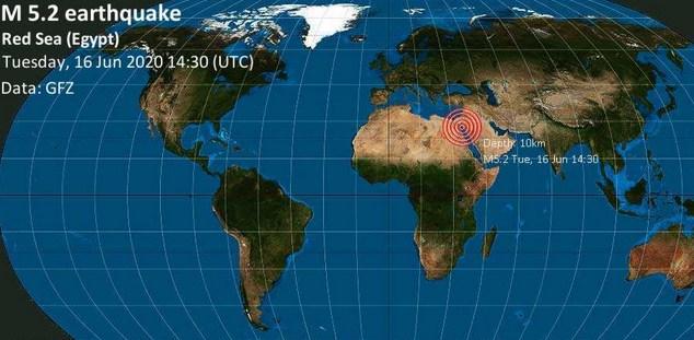 После Хургады землетрясение потревожило Крит