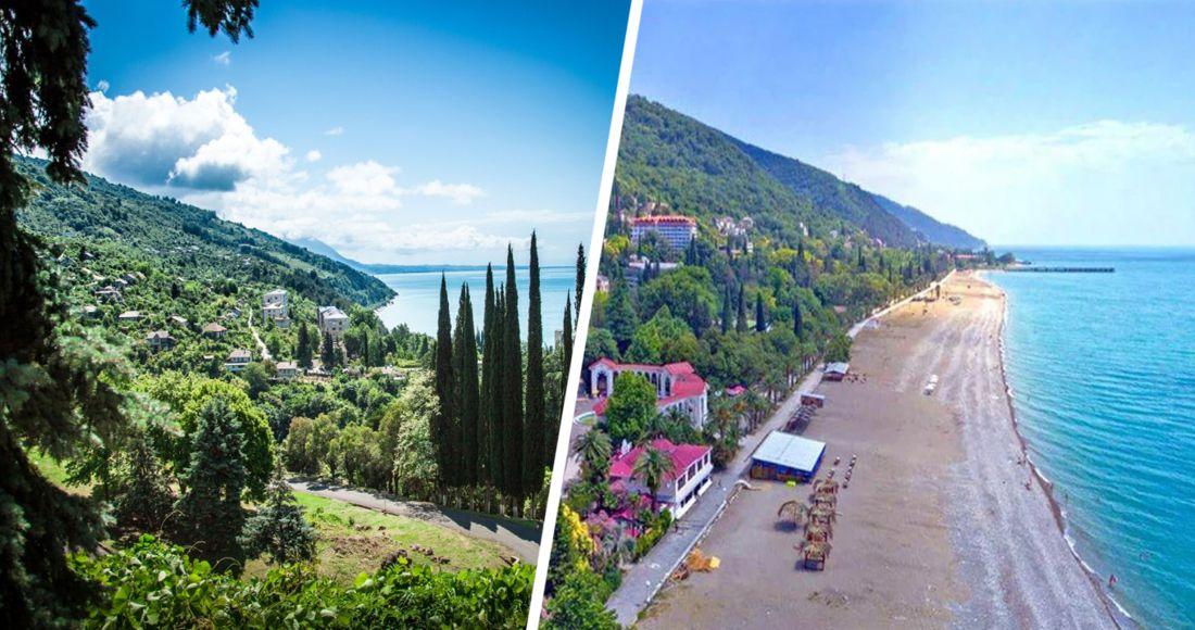 Абхазия назвала две даты открытия границы для российских туристов