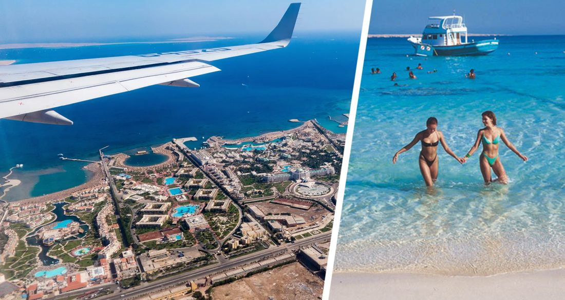 EgyptAir опубликовала список городов, откуда начинает возить туристов на курорты Египта