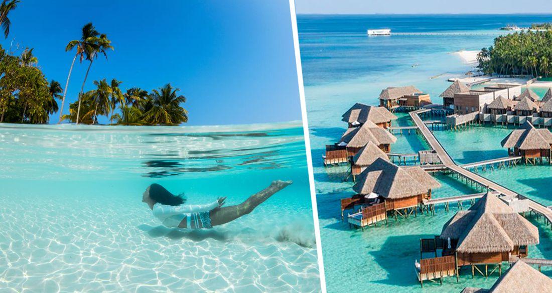 С сегодняшнего для Мальдивы начали принимать российских туристов