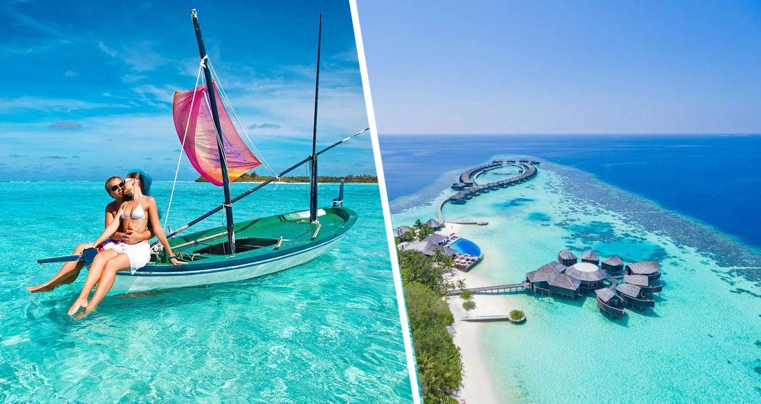 На Мальдивы прилетели первые российские туристы