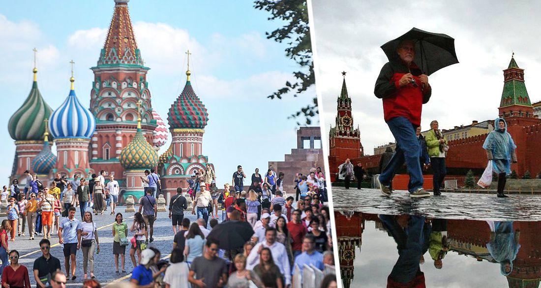 Москву ждут потопы и возобновление экскурсий