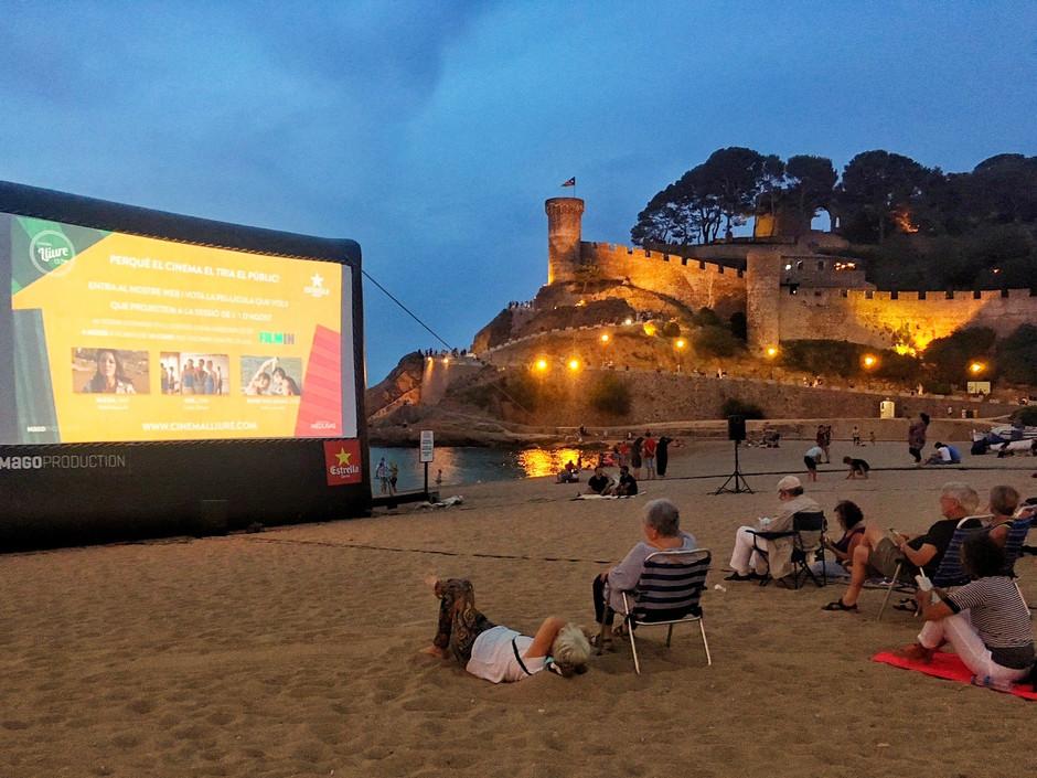 Киноночи вернутся на пляжи Каталонии