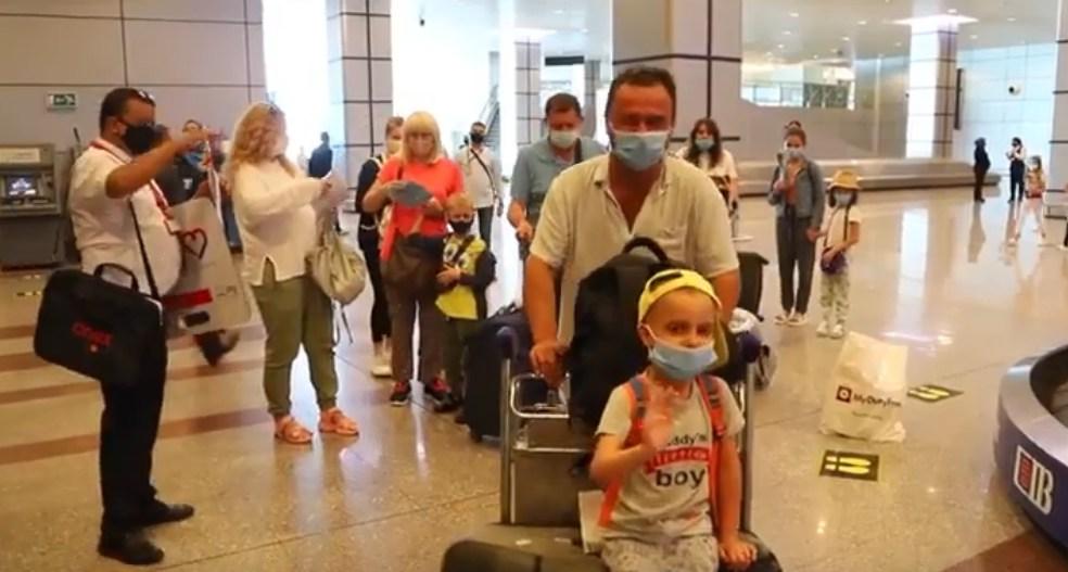 Хургада продолжает заполняться украинскими, белорусскими и российскими туристами