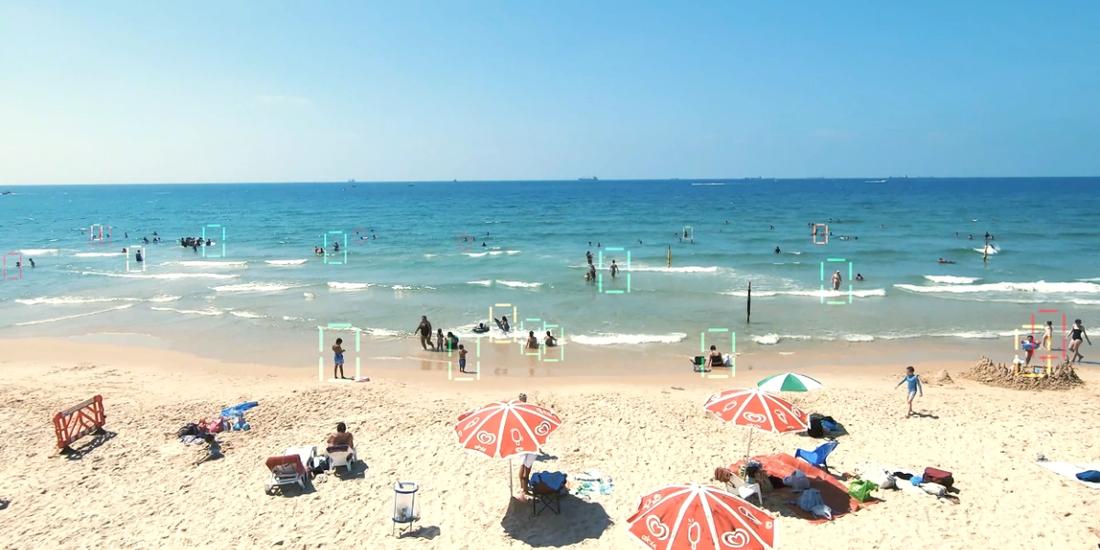 Пляжи Израиля будет контролировать искусственный интеллект