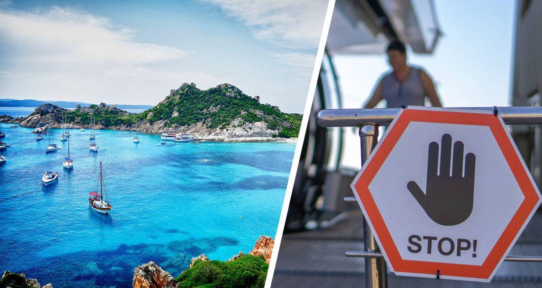 В Италии депортировали американских туристов, прилетевших на отдых на Сардинию