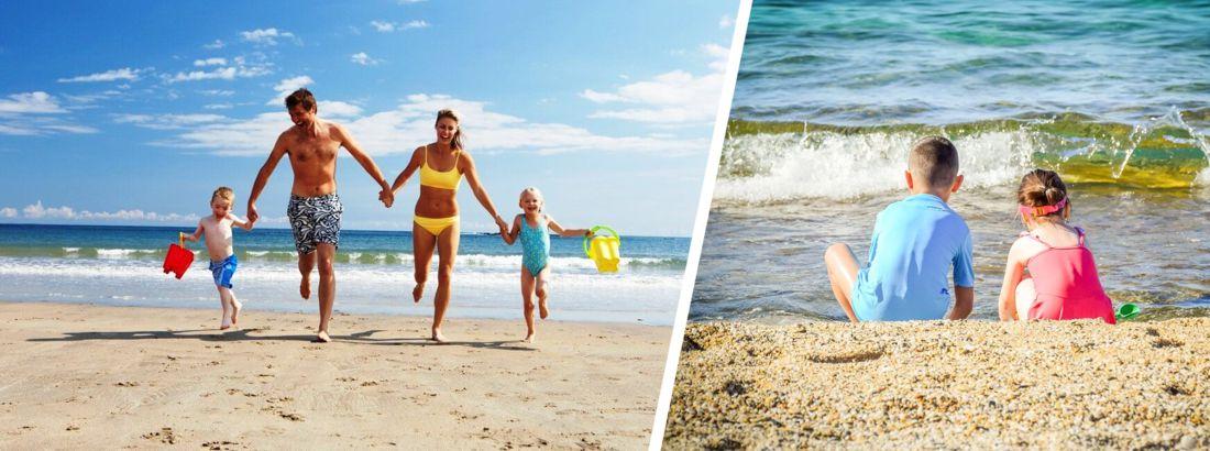 Семейный отдых на побережье Черного моря: куда отправиться с детьми кроме Анапы?