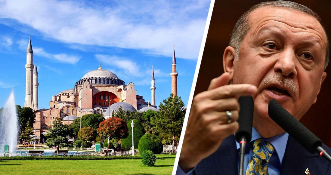 Эрдоган: «смена статуса Святой Софии не скажется на туристах»