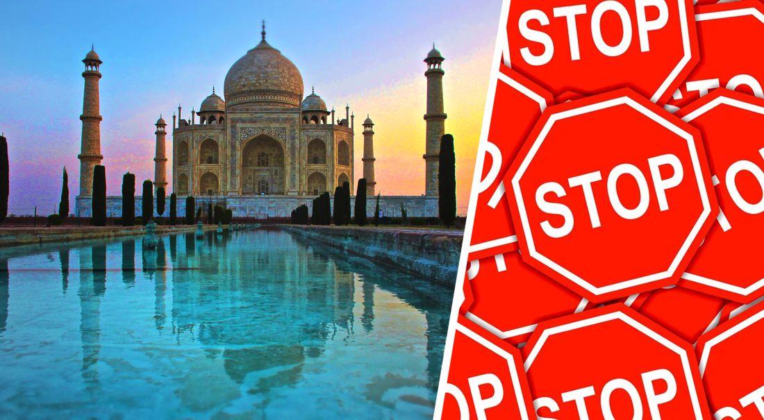 Тадж-Махал не откроют: в Индии новая вспышка Covid-19