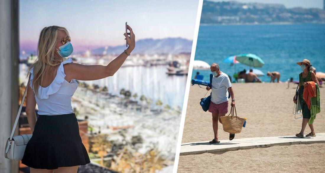 Туристов начали массово штрафовать на ₽8'000 за отсутствие масок