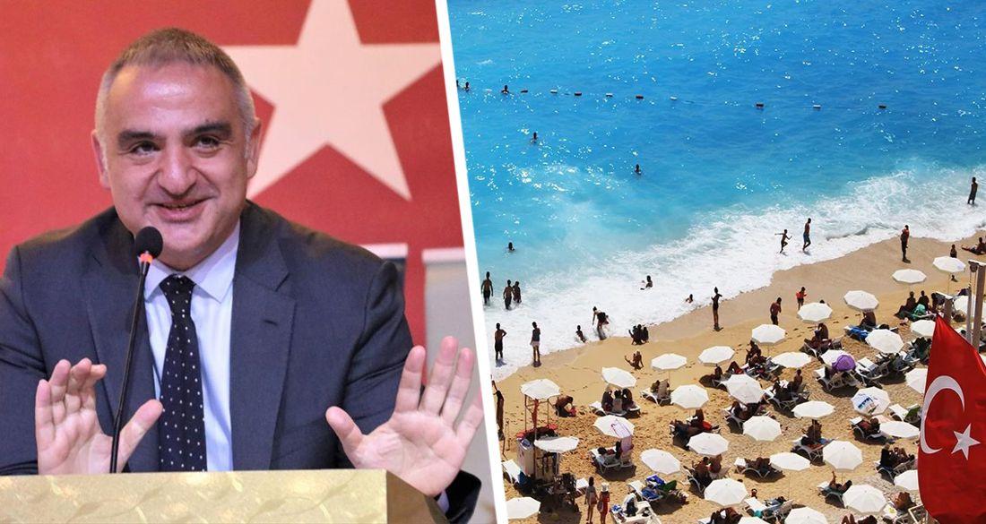 ϟ Министр туризма Турции: «они не сказали НЕТ - в течение 10 дней станет ясно, когда Россия возобновит чартеры в Анталию»