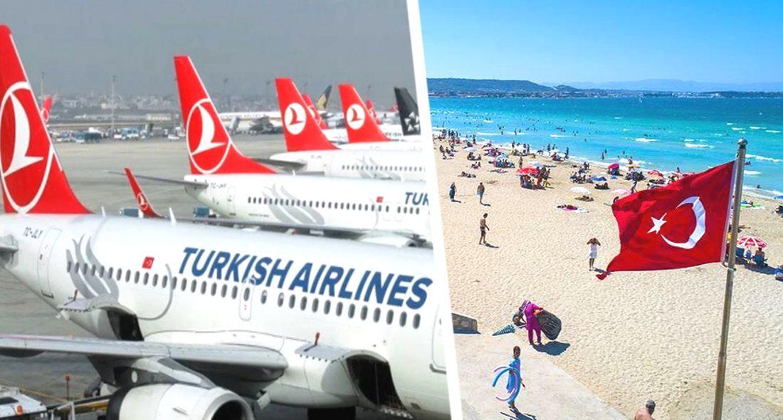 ϟ Источник: возобновление рейсов в Турцию сдвинуто вправо