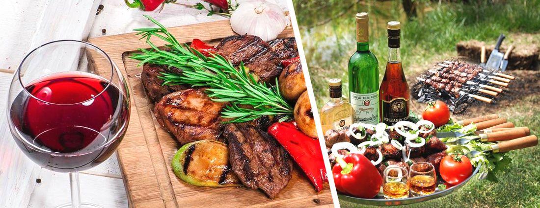 Роскачество: как и какое вино подобрать для шашлыка