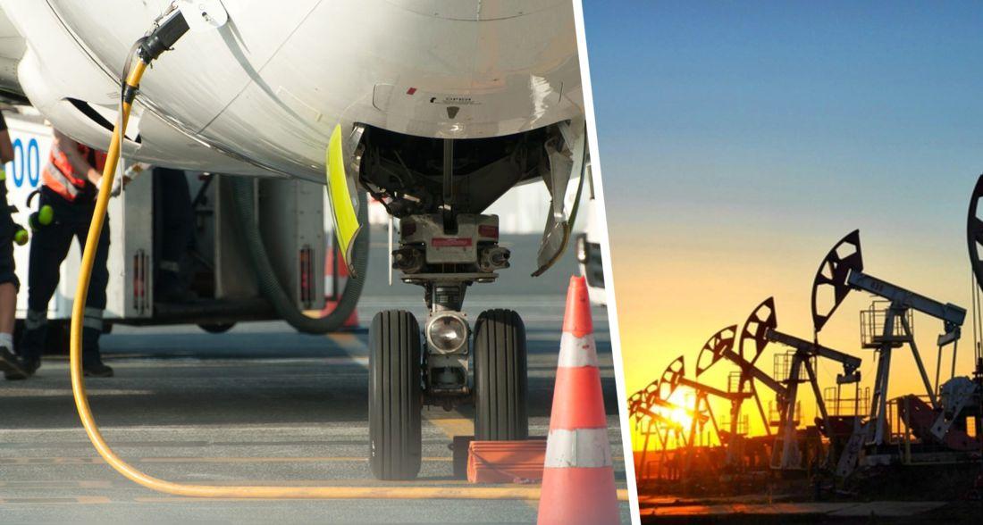 Пока в мире стоимость нефти падает, в России взлетают цены на керосин для авиакомпаний: на очереди авиабилеты