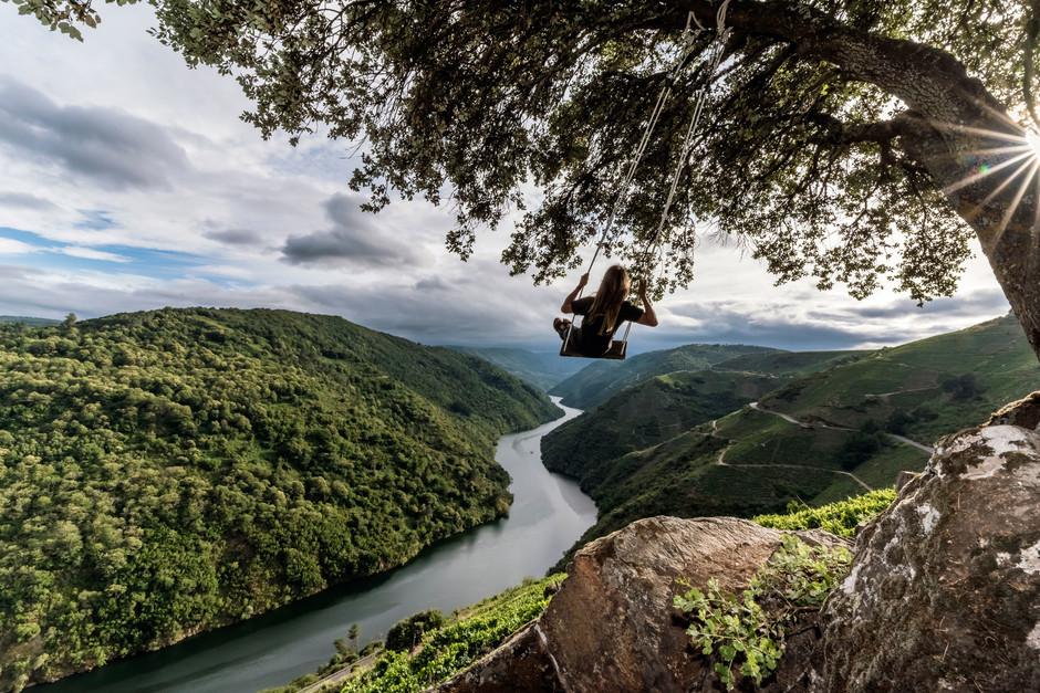 Качели региона Галисия, на которых все мечтают сфотографироваться