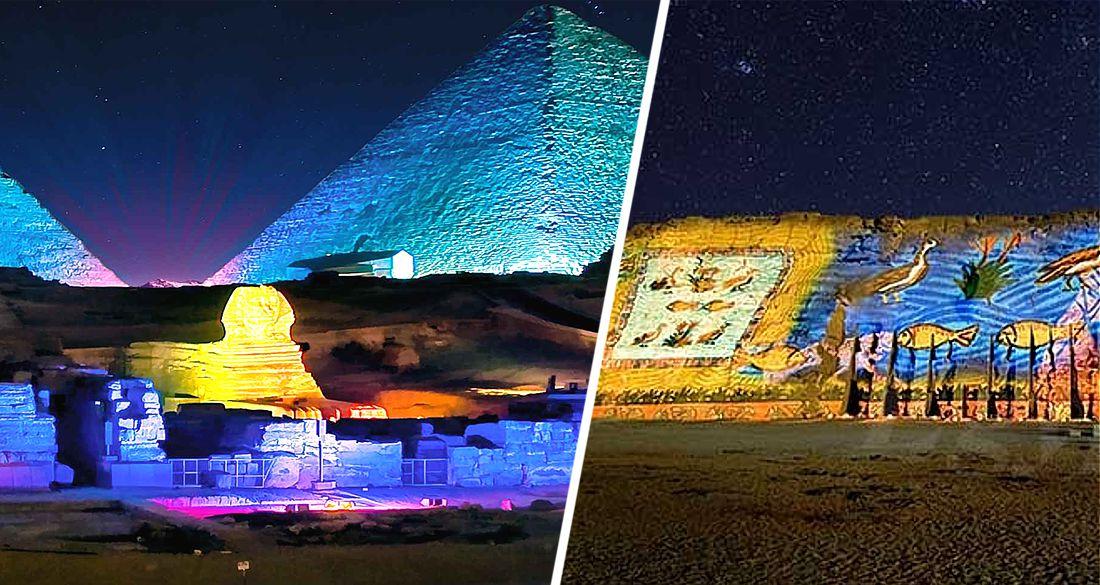 Знаменитое свето-музыкальное шоу Sound&Light у египетских Пирамид станет дешевле. ФОТО