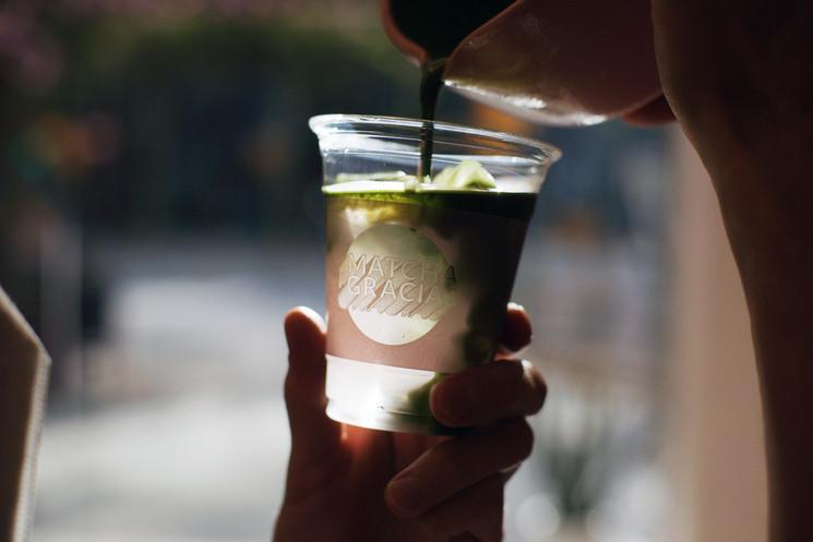 Первый чайный бар в Барселоне, специализирующийся на чае матча