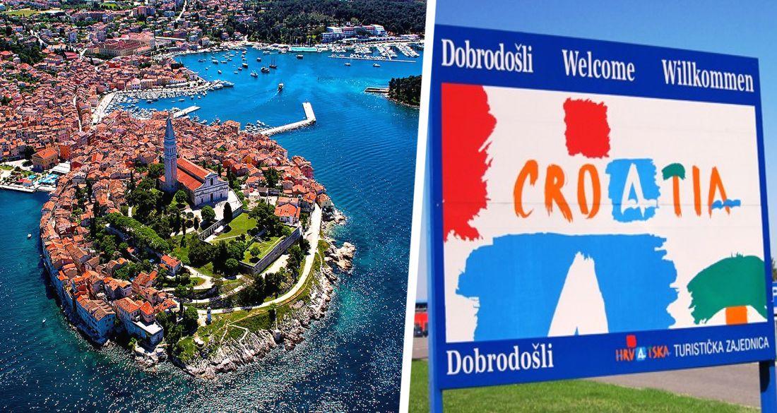 Туристы оккупировали Хорватию