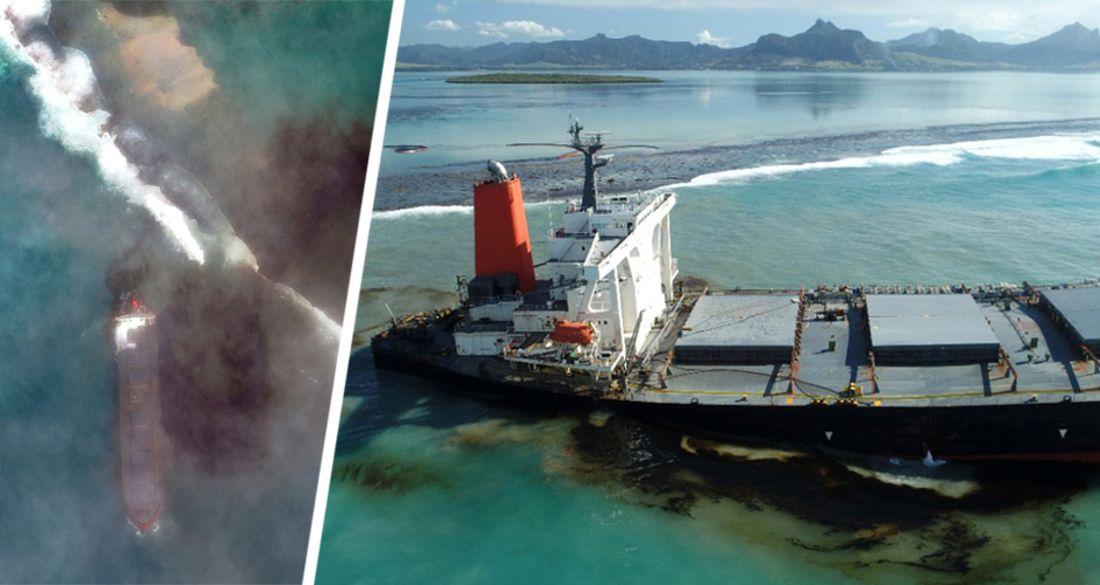 Маврикий заливает нефтью: туризм под угрозой уничтожения