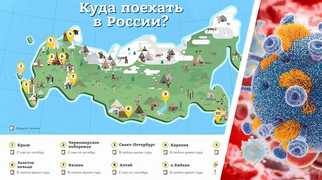 Коронавирус в России на 04.08: туристов обвинили в импорте Covid-19