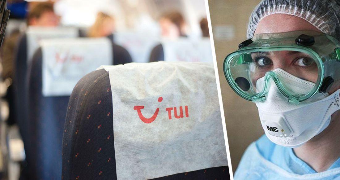 На рейсе TUI из Греции 16 туристов были заражены коронавирусом
