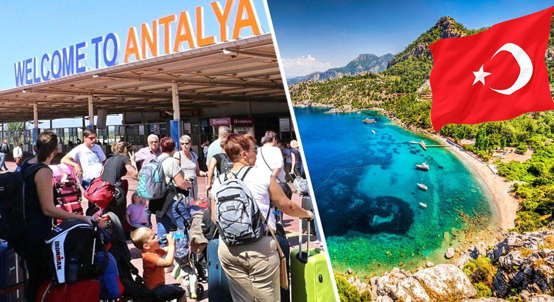 В первый день открытия Турции в Анталию прилетело 23'000 российских туристов на 80 рейсах