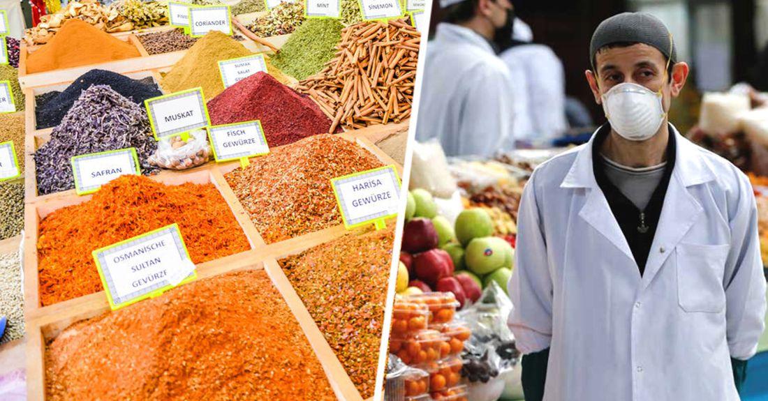 Популярный у российских туристов в Анталье рынок стал опасен из-за коронавируса