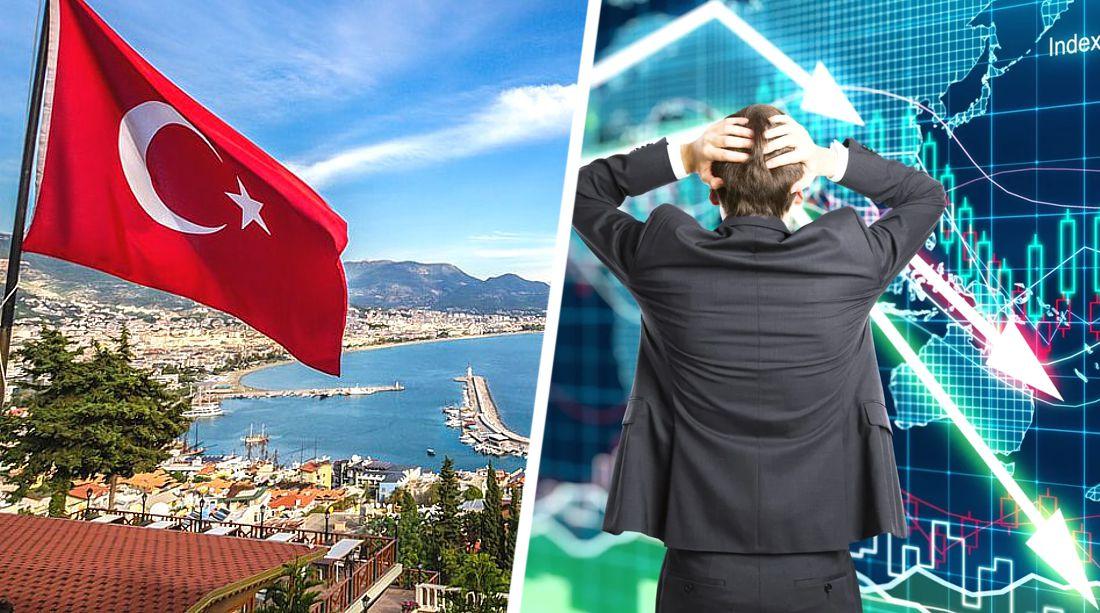 В Турции число туристов рухнуло на 86%