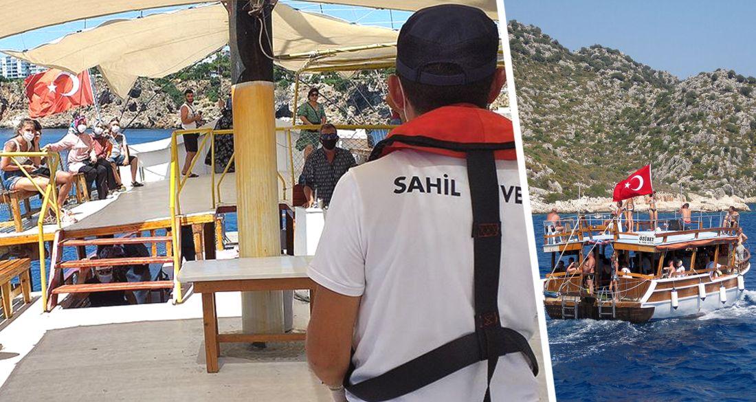 В связи со вспышкой Covid-19 в Анталии проверили 173 туристические яхты