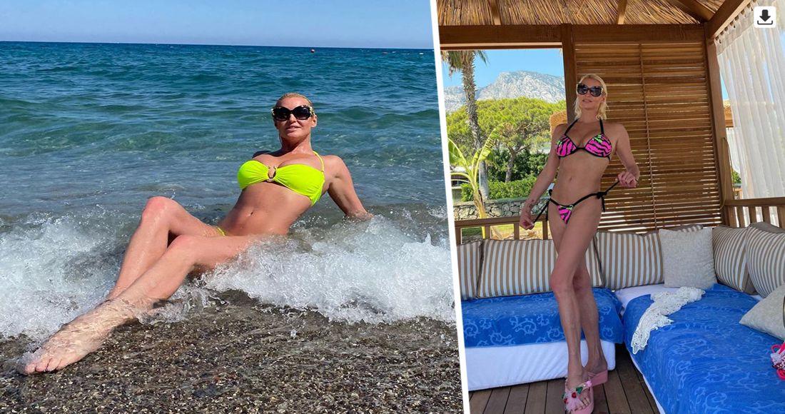 Волочкова в Турции показала результат диеты