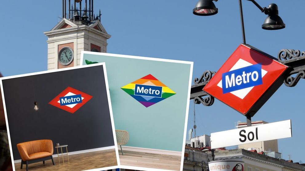 В метро Мадрида теперь можно купить его фирменный логотип в натуральную величину