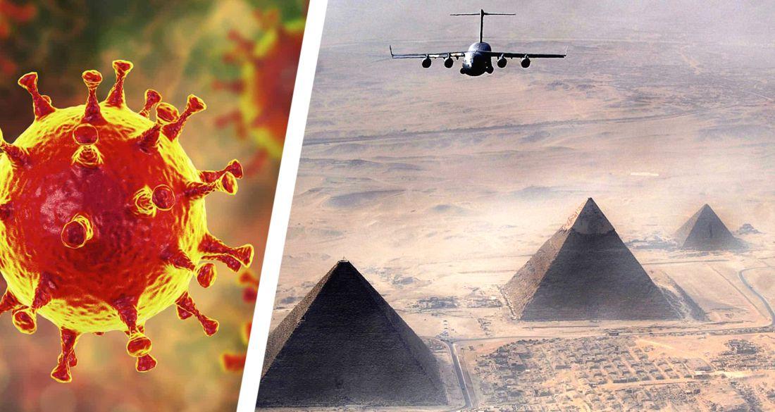 Минтранс Египта разъяснил, как в аэропортах будут требовать с туристов ПЦР-тест